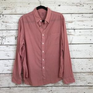 J. Crew Lightweight Chambray Button Down Top